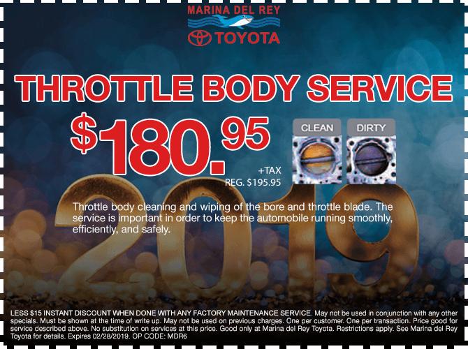 Throttle Body Service $180.95