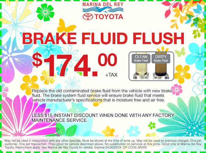 Brake Fluid Flush $174 + tax