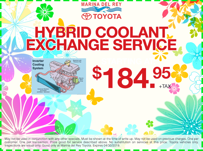 Hybrid Cooling Exchange Service $184.95