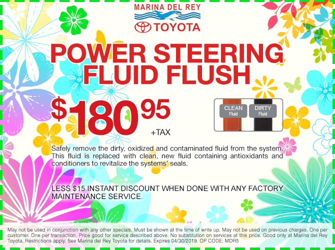 Power Steering Fluid Flush $180.95