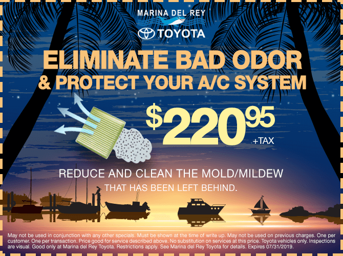 Eliminate Bad Odor & Protect Your A/C System $220.95 + tax