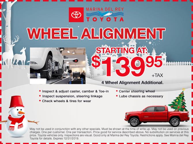 Wheel Alignment $139.95