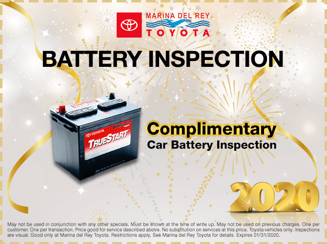 Complimentary Battery Inspection