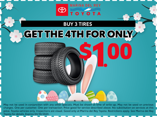 Tire Special Buy 3 and Get the 4th For $1