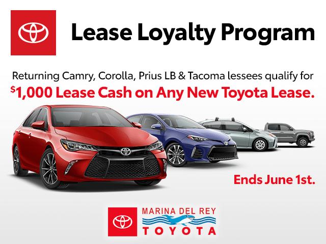 Toyota Lease Loyalty Program
