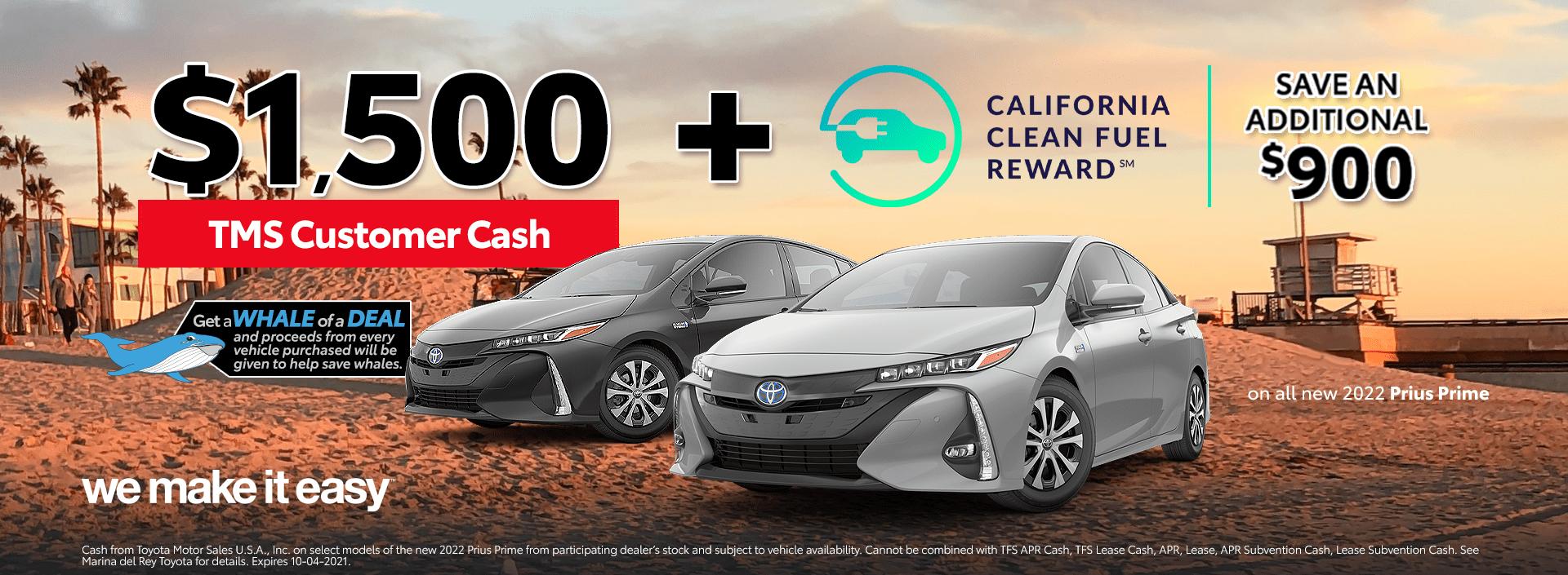 Toyota Prius Prime Deals Specials Incentives Offers