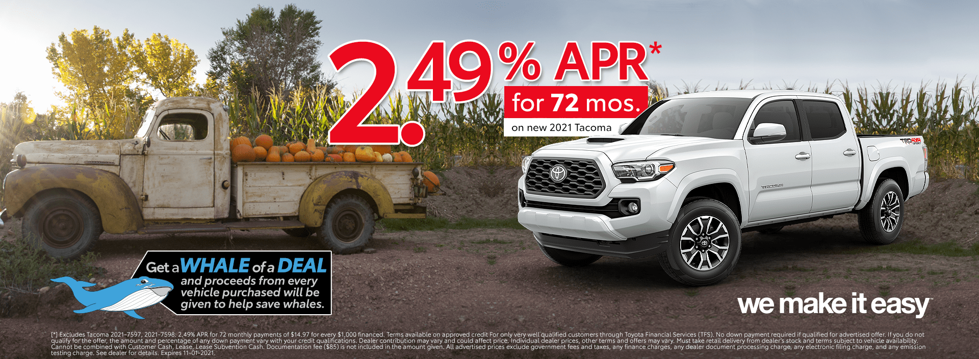 Toyota Tacoma Deals in Stock Los Angeles