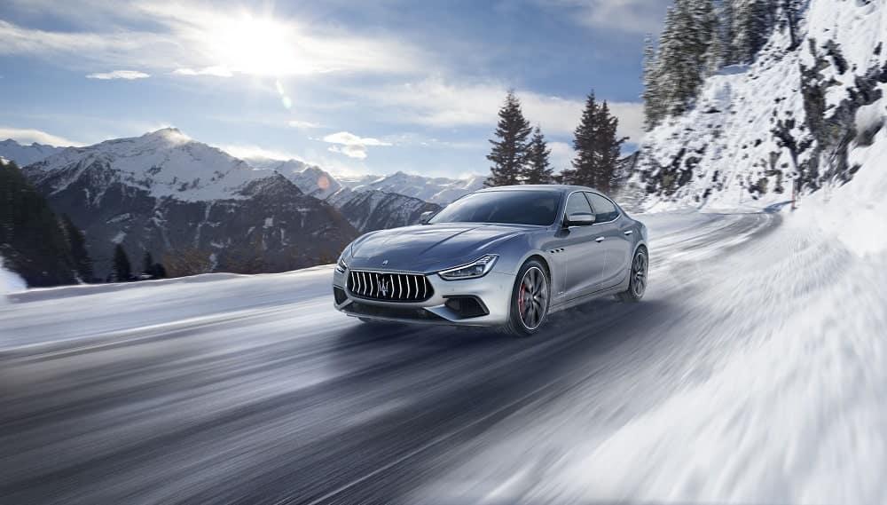 Maserati Ghibli winter