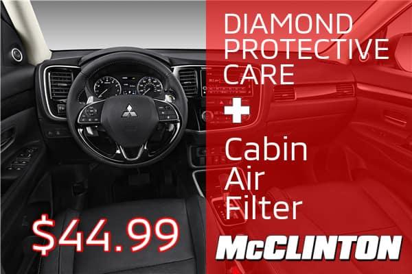 Diamond Protective Care + Cabin Air Filter