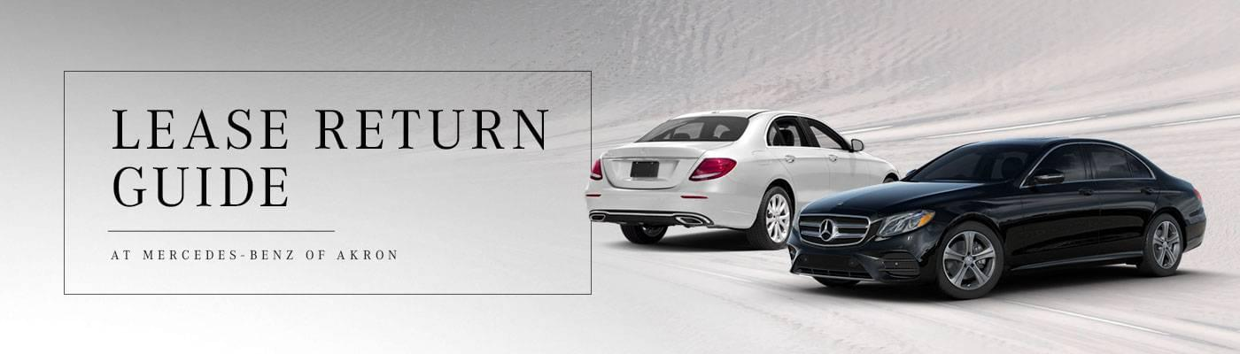 Mercedes-Benz Lease Return in Akron, OH