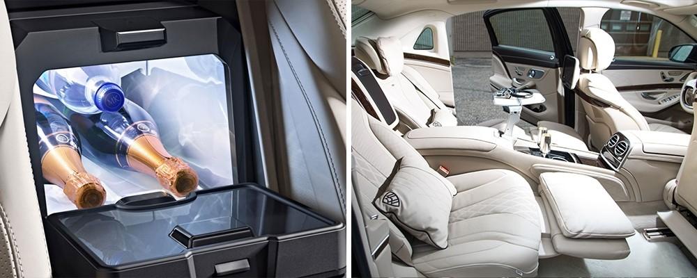 Mercedes S-Class Sedan Seating