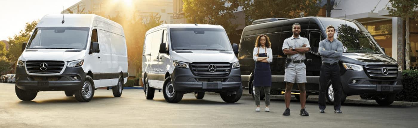 2019 Mercedes-Benz Van Lineup
