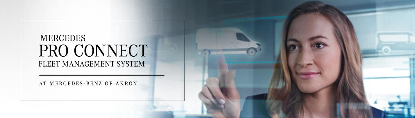 Mercedes PRO connect: Fleet Management System for Mercedes-Benz Vans