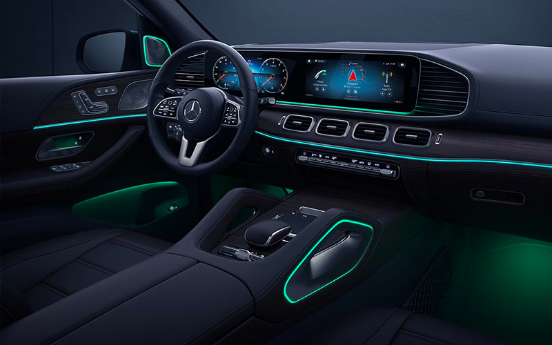 2020 Mercedes-Benz GLE Interior