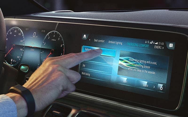 2020 Mercedes-Benz GLE MBUX System
