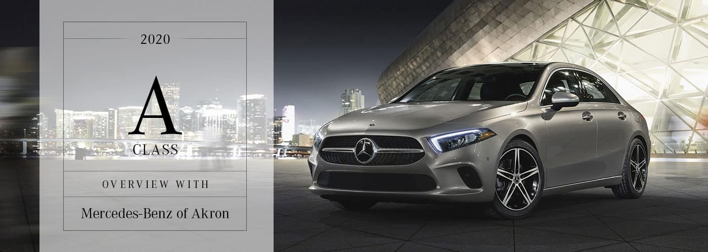 2020 Mercedes-Benz A-Class Model Overview at Mercedes-Benz of Akron
