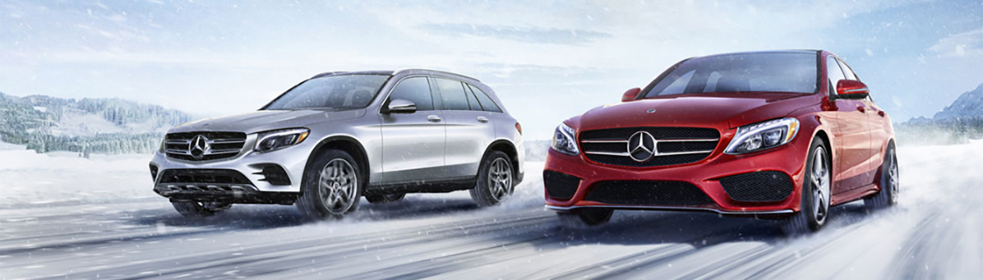 Mercedes-Benz 4MATIC® All-Wheel Drive Snow