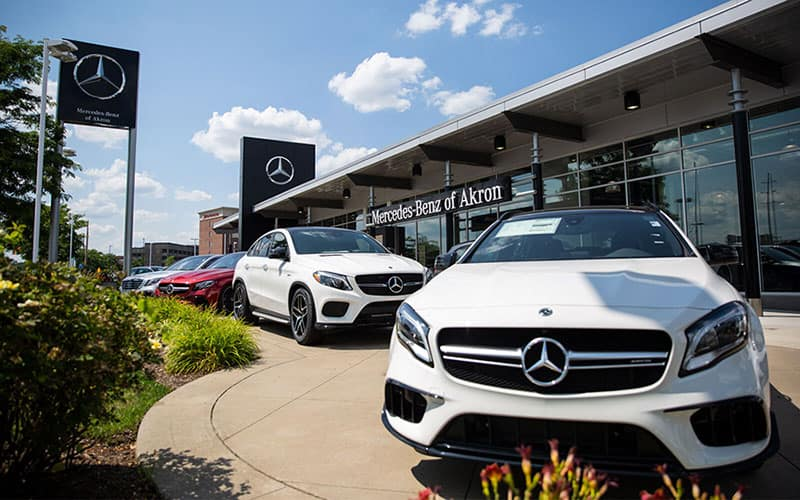 Mercedes-Benz of Akron Exterior