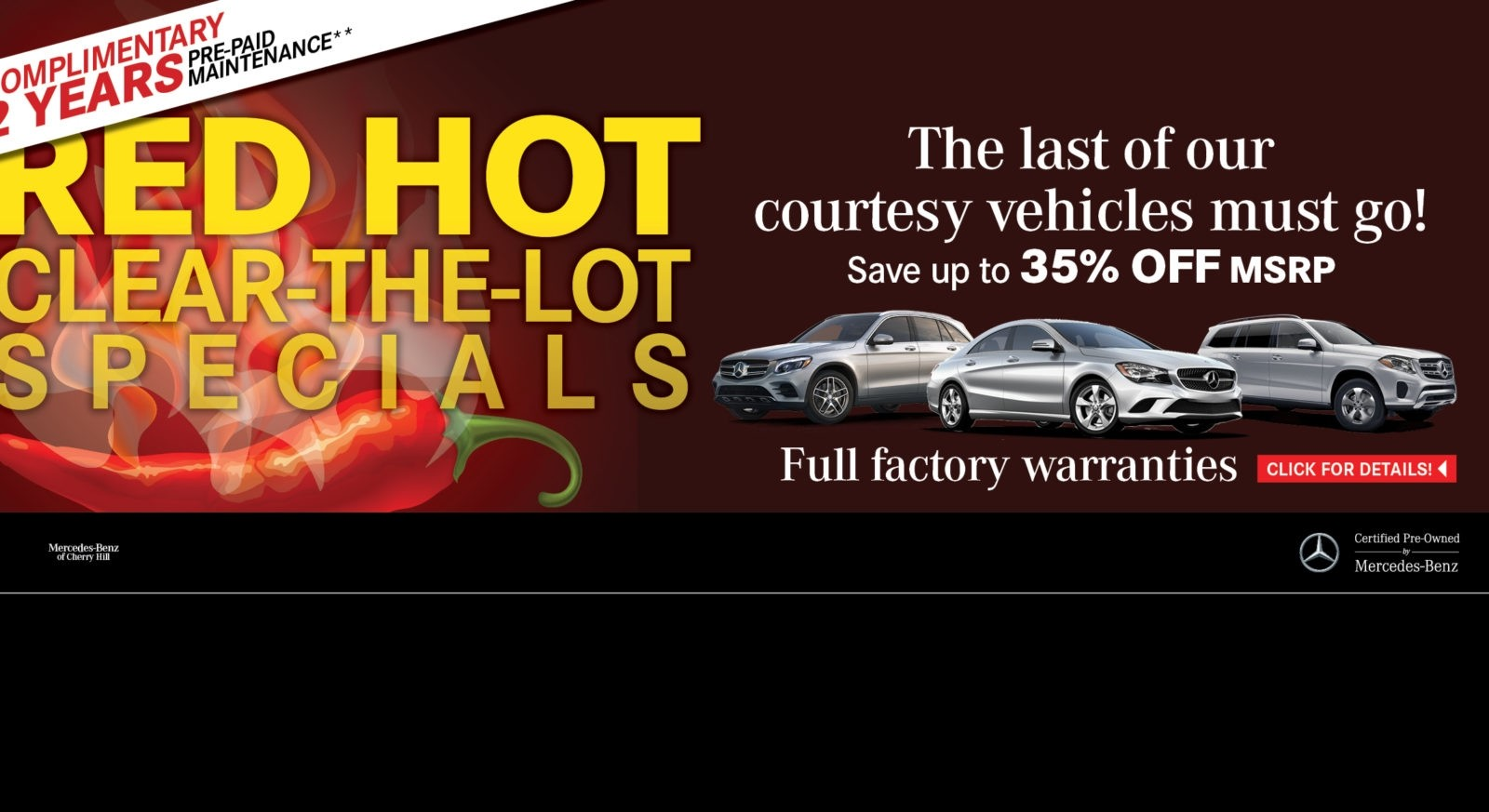 Mercedes Benz Lease Specials Mercedes Benz Of Cherry Hill