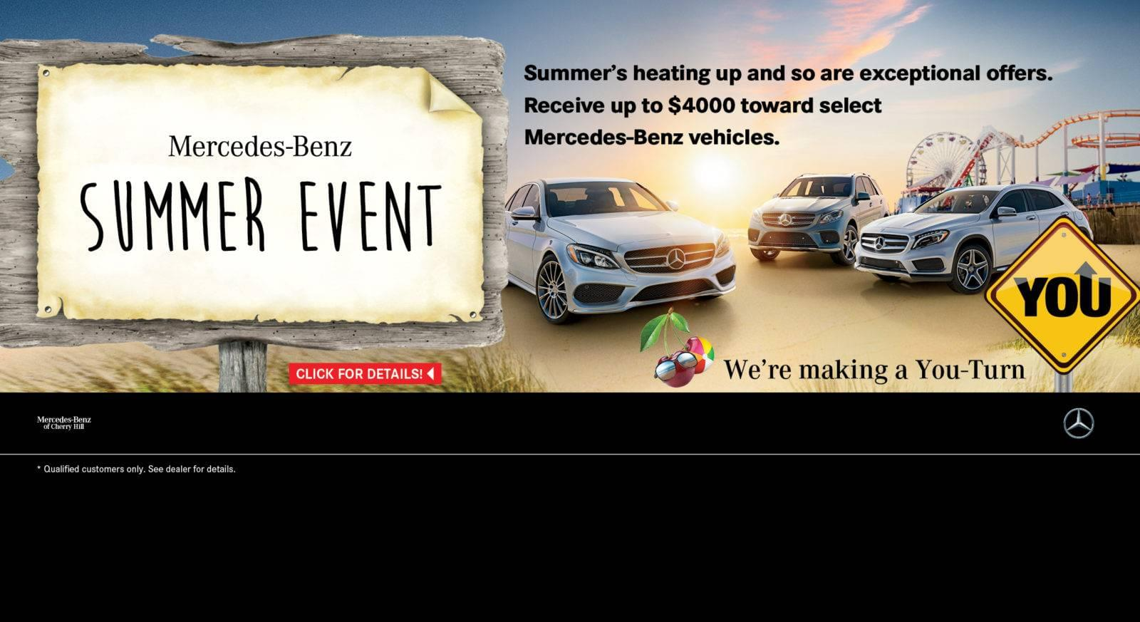 Mercedes benz of cherry hill nj new used car dealer for Mercedes benz certified pre owned sales event