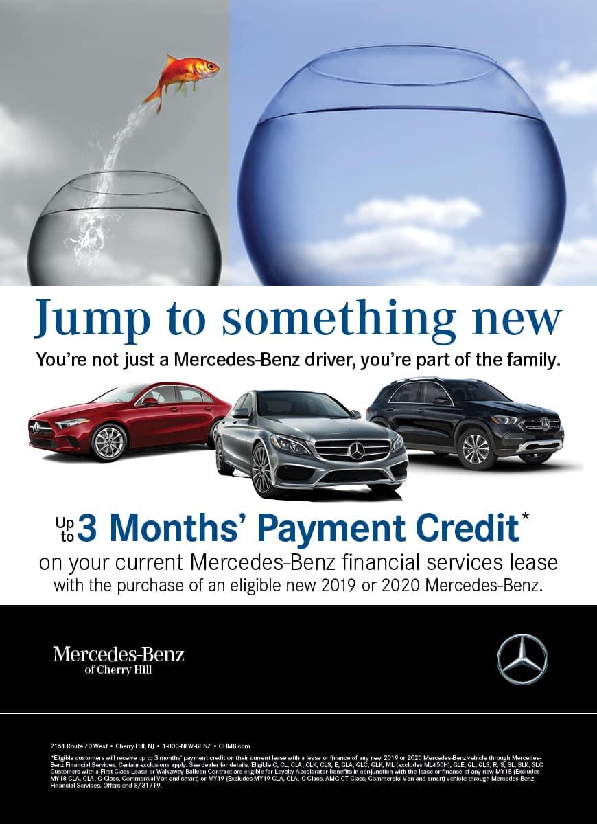 Mercedes Benz Payment Credit Mercedes Benz Of Cherry Hill