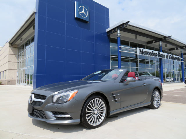 Certified Pre-Owned 2014 Mercedes-Benz SL550