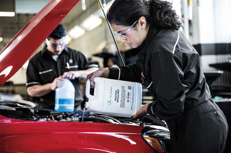 Car Maintenance Advice in Colorado Springs | Mercedes-Benz