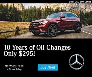 Oil Change Coupons Colorado Springs >> Oil Change Coupons And More At Mercedes Benz Of Colorado Springs