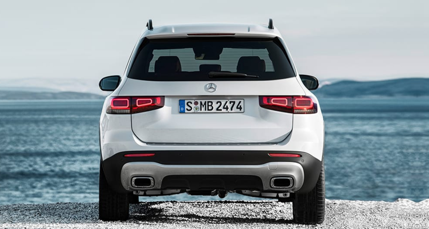 2020 Mercedes-Benz GLB rear exterior view