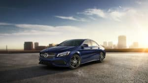CLA Class Coupe
