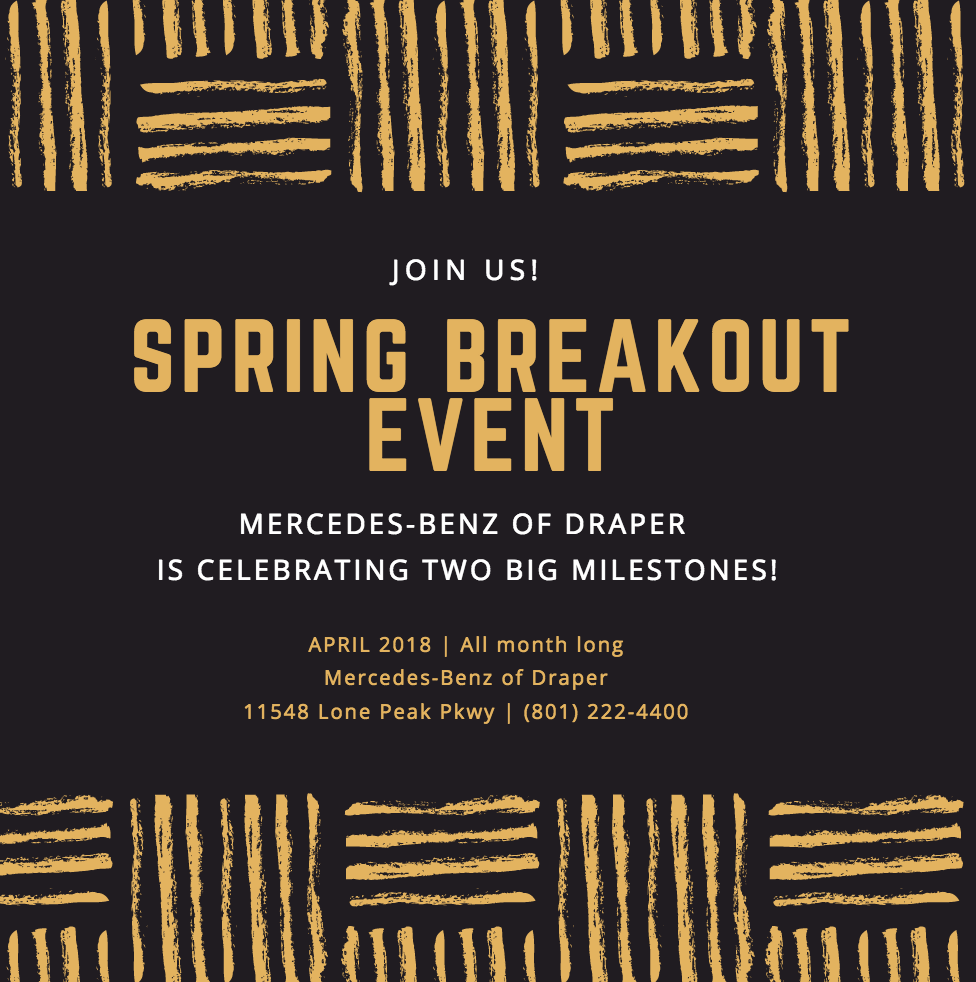 Spring Breakout Event - MB Draper