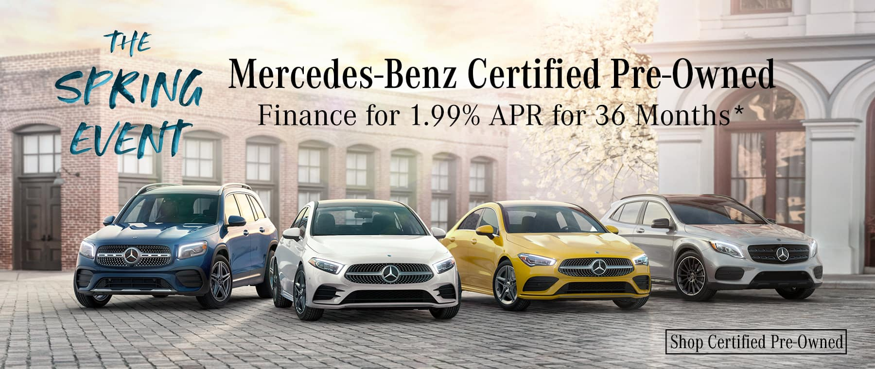 The Spring Event MB Certified Pre-Owned