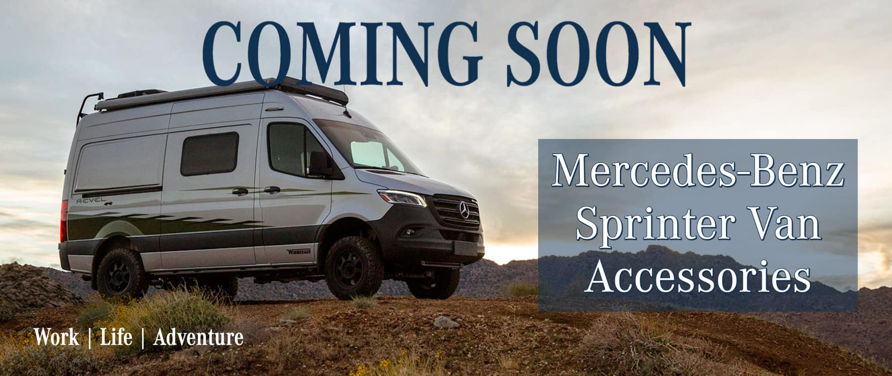 Coming Soon Sprinter Accessories