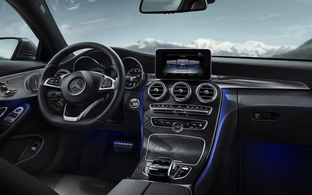 2017 C300 Coupe interior