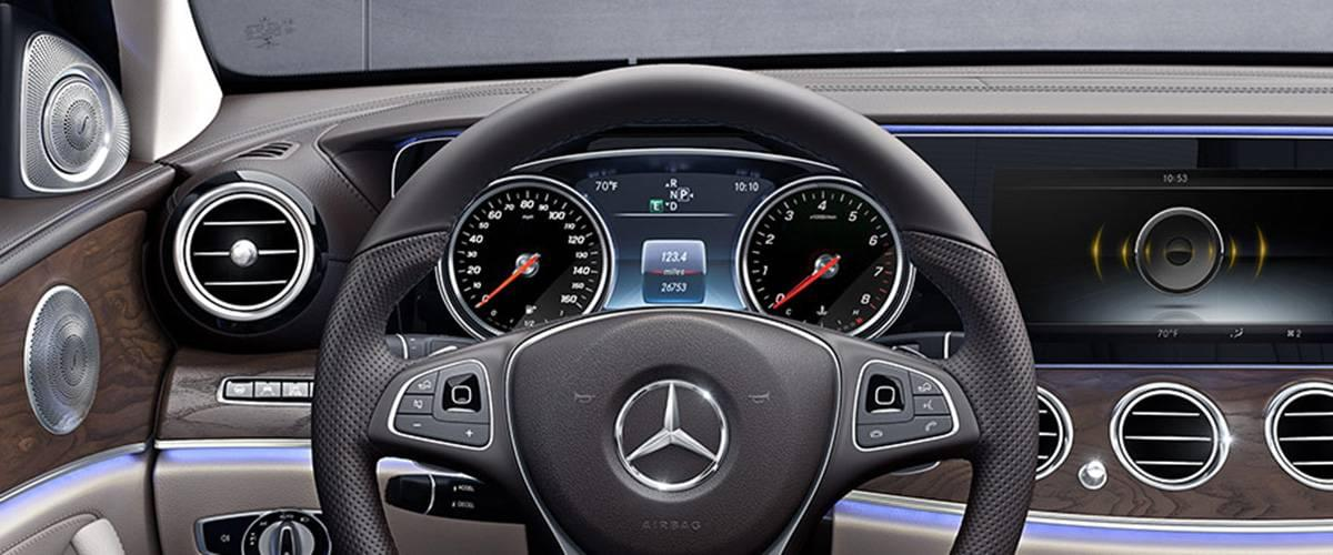 Mercedes-Benz E300 dashboard