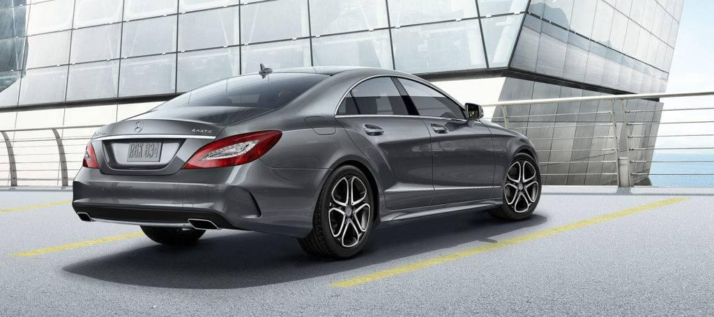 2017 MB CLS Coupe Rear