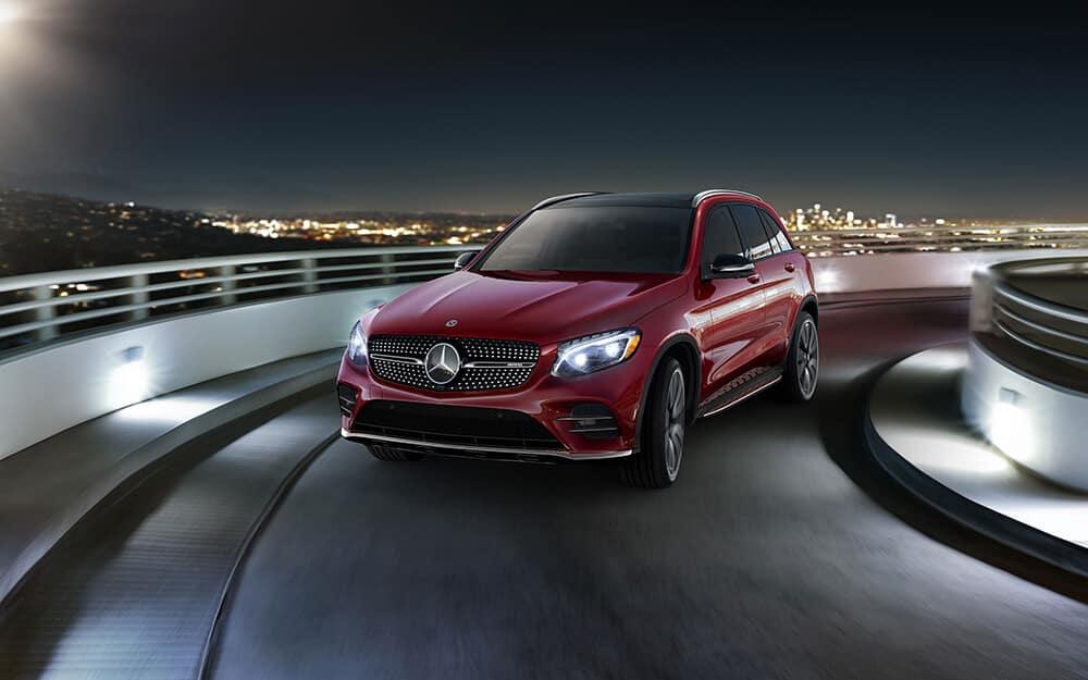 2018 Mercedes-Benz GLC in red