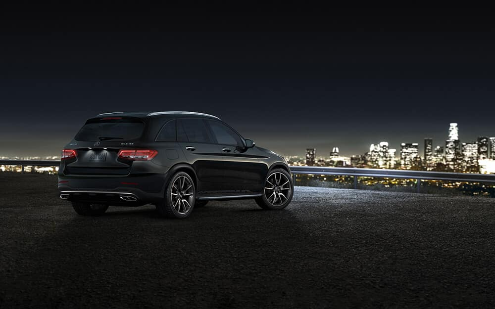 2018 Mercedes-Benz GLC at night