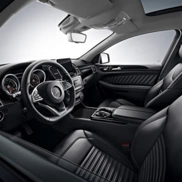2018 Mercedes-Benz GLE steering wheel