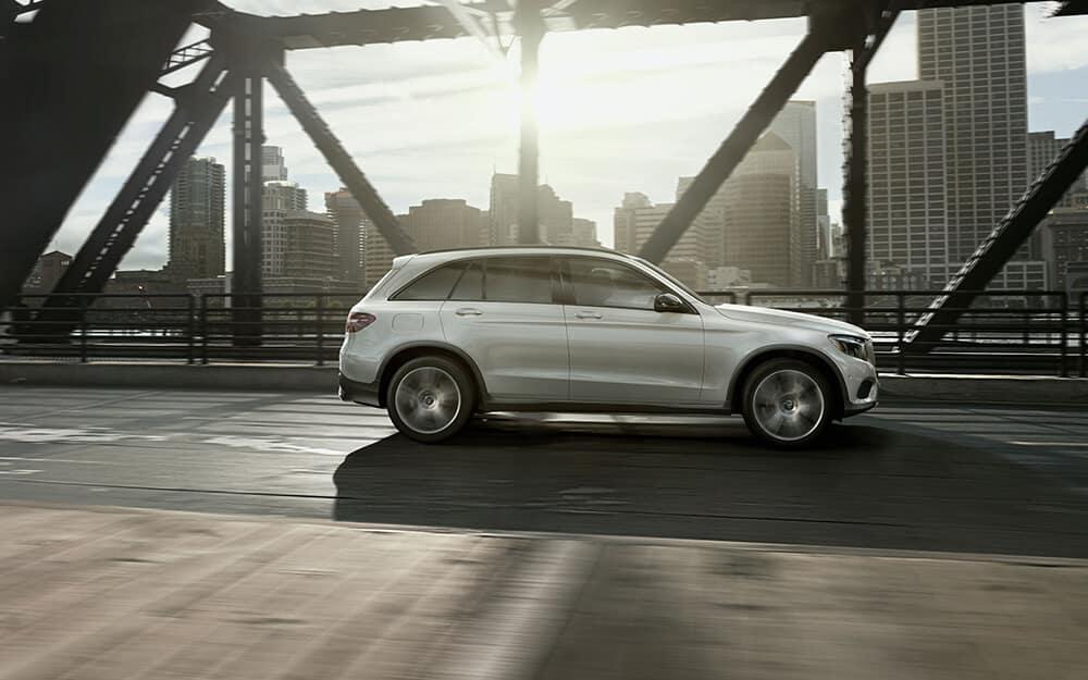 2018 Mercedes-Benz GLC profile view