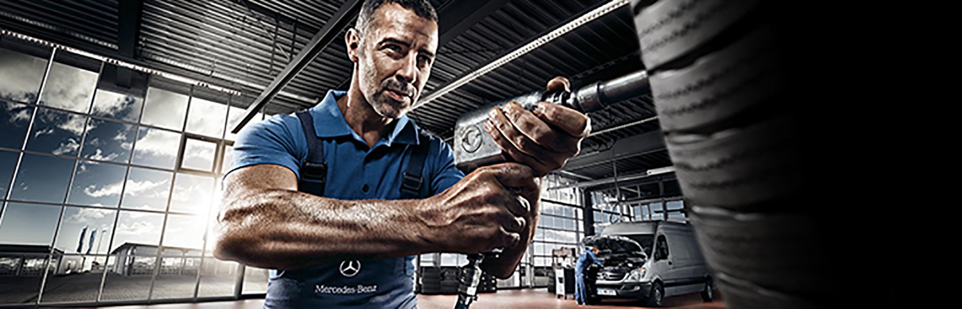 Mercedes benz service car image idea for Fairfield mercedes benz service