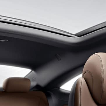 2018 Mercedes-Benz C-Class Coupe Interior Sunroof