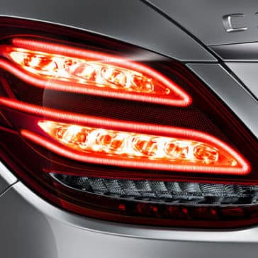 2018 Mercedes-Benz C-Class Sedan Tail Light Up Close