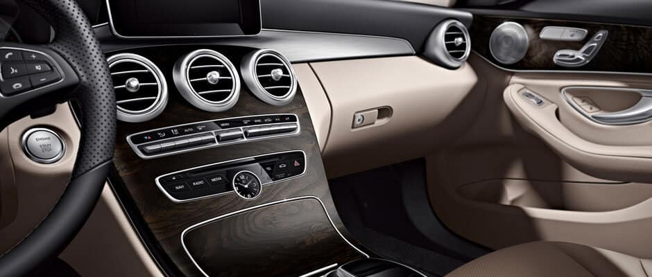 Interior2018 Mercedes-Benz C-Class Sedan Front Interior