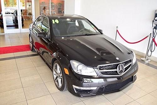 Certified Pre-Owned 2014 Mercedes-Benz C 63 AMG® RWD SEDAN