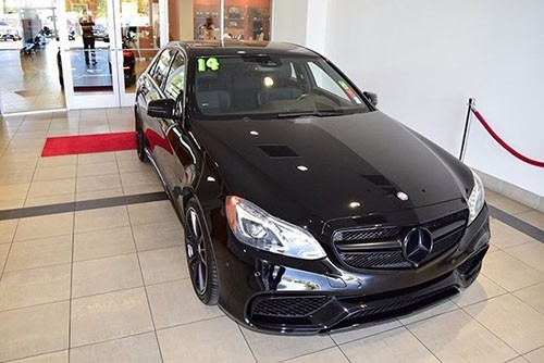 Certified Pre-Owned 2014 Mercedes-Benz E 63 AMG® AWD 4MATIC®