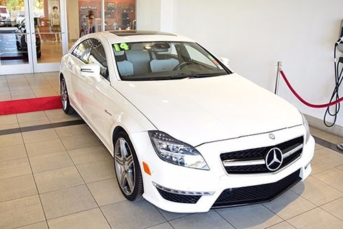 Certified Pre-Owned 2014 Mercedes-Benz CLS 63 AMG® AWD 4MATIC®