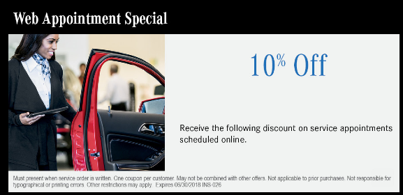 Receive 10% off when you schedule a web appointment