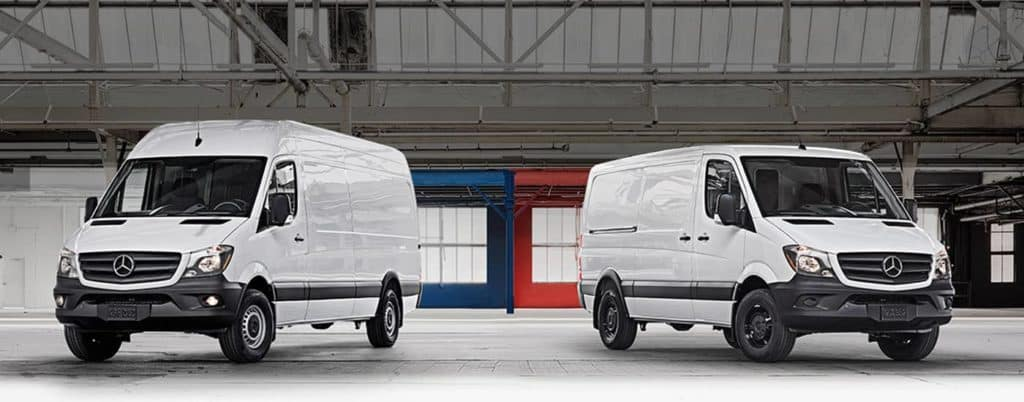Mercedes-Benz Sprinter Cargo Vans