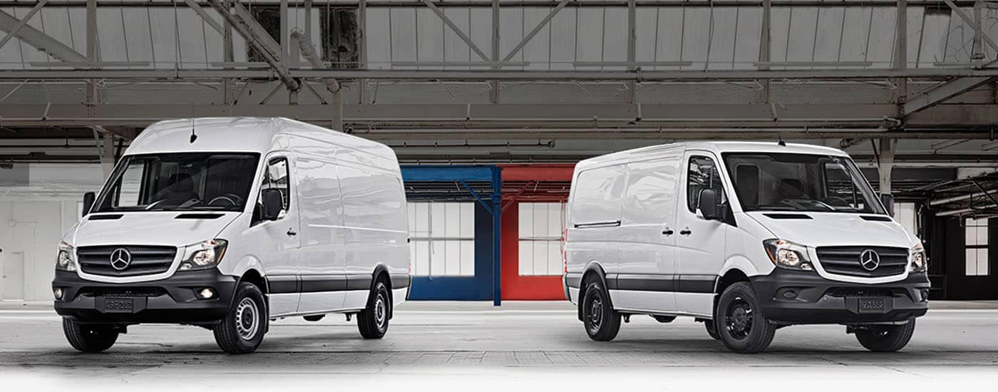 Mercedes benz sprinter extended cargo van features for Mercedes benz fairfield